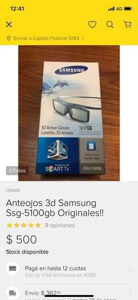 Anteojos 3d Samsung Ssg-5100gb Originales!!