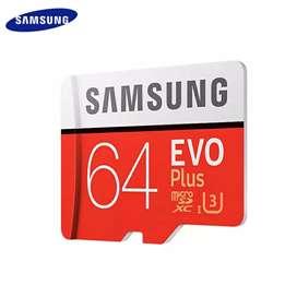 Micro SD Samsung Clase 10 U3 Nueva