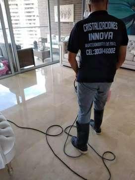Brillada de pisos, pulida de pisos