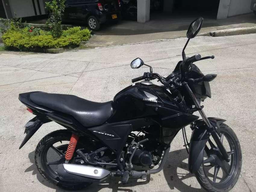 Moto honda CB110 0
