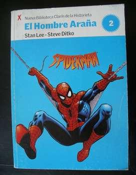 El hombre Araña Biblioteca Clarín de la historieta tomo 2.