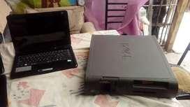 Cpu y notebook repuesto