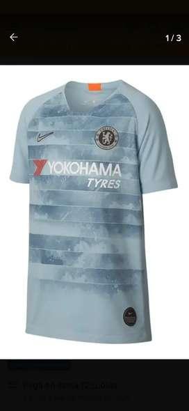 Camiseta Nike Chelsea Fc Away 18/19 Fútbol Stadium Blues