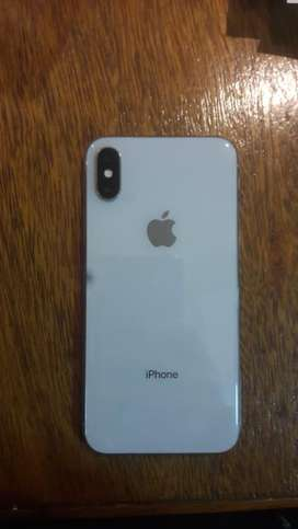 Apple iPhone X 64gb color blanco impecable