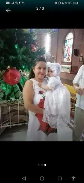 Vestido bautizo ropon