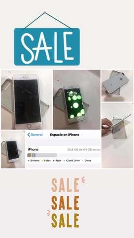 Venta de IPhone 8Plus, de 64 gigas