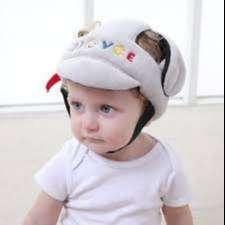 Casco Protector para Bebés en Tela