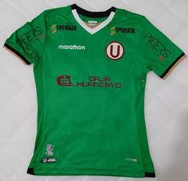 Camiseta de arquero 2019 - Talla M - Color verde- Universitario de Deportes - Marca Marathon