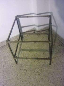 Mesa ratona de bronce