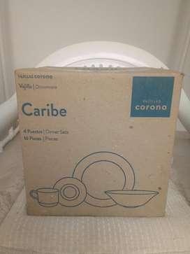 Vajilla Corona Caribe