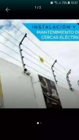 Amigos basta ya de robos instalé cercos eléctricos