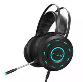 Audífonos/diadema Gamer/micrófono Omnidireccional/rgb