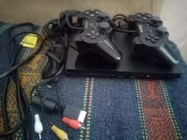 Vendo play station 2