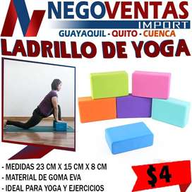 BLOQUE DE YOGA FITNESS