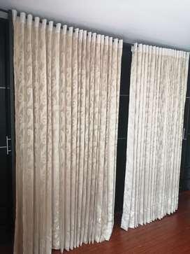 Vendo hermosa cortina