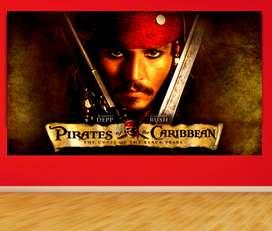 cuadros en vinilo piratas del caribe