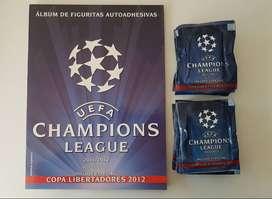 Album De Figuritas U E F A Champions League 2011/12 + 100 Sobres Cerrados