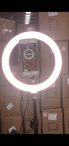 Aros LED para selfies