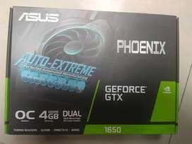 Tarjeta de vídeo, tarjeta gráfica gtx 1650 asus Phoenix nueva
