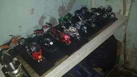 Motos a escalas de colección