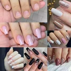 Luzca tus  uñas hermosas  acrilicas efecto natural  aprovecha  esta  promociones  por este mes