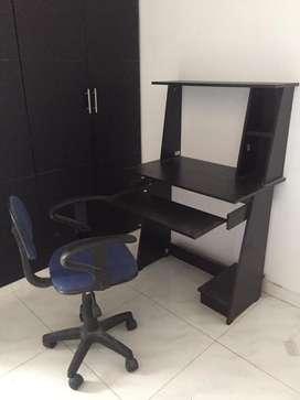 Escritorio + silla (negociable)