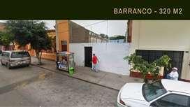 TERRENO LIMPIO A 1180 X M2 BARRANCO