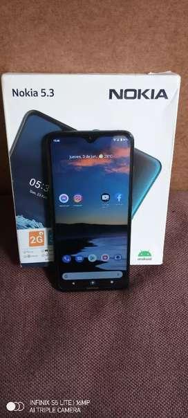 Nokia 5.3 cambio