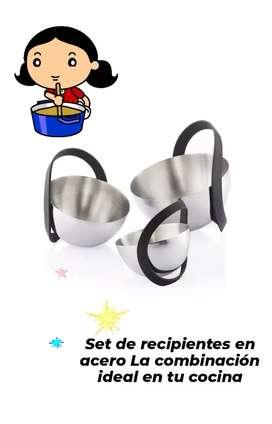 La combinación ideal para tu cocina, set recipientes orbo