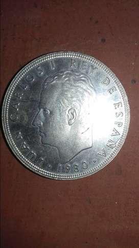 Moneda de 100 pesetas 1982.