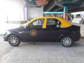 Taxi Renault Logan 2012 con licencia
