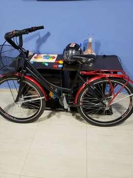 Vendo bicicleta urbana como nueva