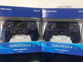 Control Original Para Ps4 Azul Oscuro Medianoche