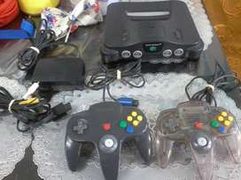 Nintendo 64 , 2controles Mas 5 Juegos