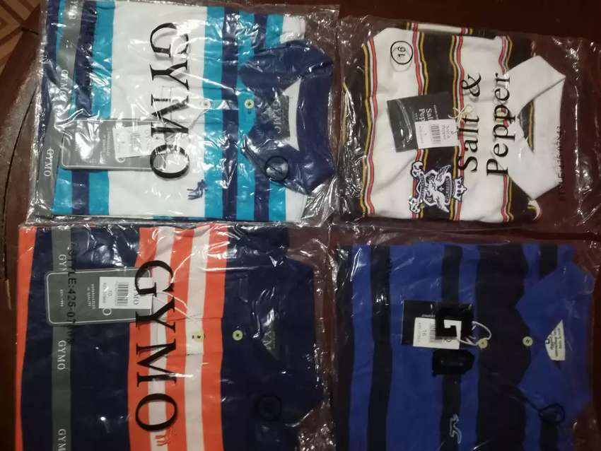Camisetas polo para niño 100% originales 0