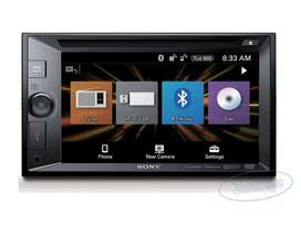 Autoradio Lcd Táctil 6.2 Sony Bluetooth/dvd/usb Xav-w651bt