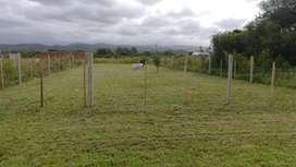 Dueño vende hermoso terreno en Alta Gracia 624m con escritura pegado a Anisacate