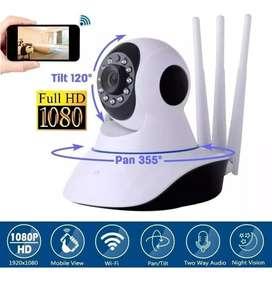 Cámara De Seguridad Robótica wifi con Visión Nocturna Micro Sd sensor infrarojo