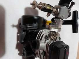 Motor nittro para auto radio control