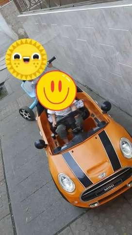 Carro Bateria Minie Cooper
