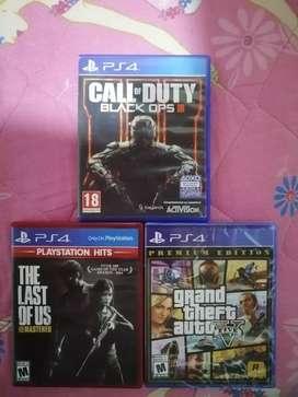 Play 4 juegos cambio