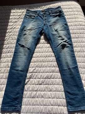 Lote de jeans talle 34, usados de marca excelente estado