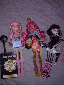 SOLAMENTE CAMBIO muñecas monster high