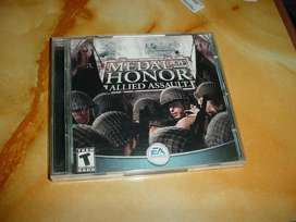 PC game doble CD Medal of Honor: Allied assault trae su key