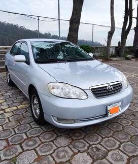 Vendo Toyota Corolla 2006 Manual exelente estado