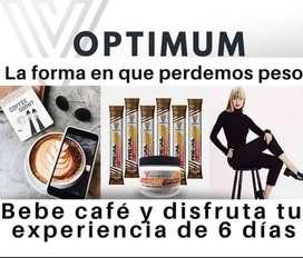 Café Slim Roast Optimum Valentus para bajar de peso