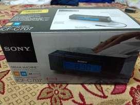 Reloj despertador SONY original