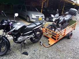 Remolque para motos acarreos