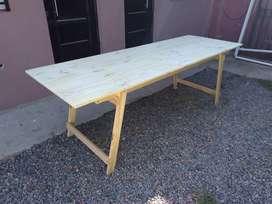 Mesa de Quincho plegable