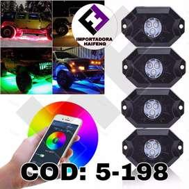 LED para carro con app para IOS y ANDORID HAIFENG